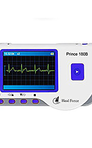 HealForce Piel Monitor de Pulso Cardiaco Automático Visualización LCD Others Metal