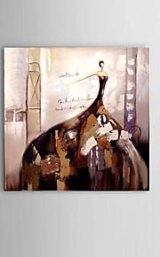 käsinmaalattu öljymaalaus ballerina tyttö baari ravintola sisustus venytetty runko