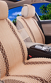 Car Seat Cover Universal Fits Seat Protector Seat Covers Knit- Beige,Brown