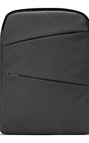 pofoko® 15,6 inch 26L waterdichte Oxford stof laptop rugzak zwart / grijs