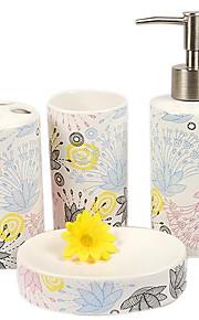 dekorativt mønster badeværelse fire heldragt