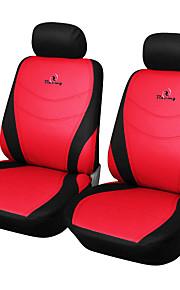 ajuste universal para el coche, camión, SUV o camioneta asiento de coche de poliéster cubrir la cubierta del asiento delantero (4 pedazos