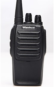 Wanhua WH36 Walkie-talkie 5W 16 400 - 470 MHz 1500mAh 1.5 Km - 3 Km Richiesta vocale / Segnale di batteria scarica / CTCSS/CDCSS 无