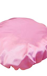 바 실크 이중 방수 샴푸 여성 패션 새틴 샤워 캡 목욕 헤어 터번