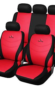 ajuste universal para el coche, camión, camioneta o furgoneta cubierta de asiento de coche de poliéster conjunto conjunto completo