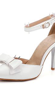 Chaussures de mariage-Bleu / Rose / Blanc-Mariage / Habillé / Soirée & Evénement-D'Orsay & Deux Pièces / Bout Pointu-Sandales-Homme