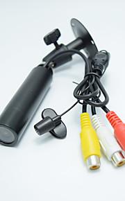 3.6mm mini macchina fotografica 420tvl SONY CCD a colori CCTV coperta supporto telecamera di sicurezza microfono