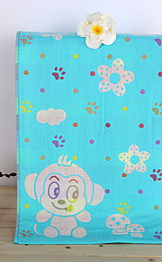 """1PC Full Cotton Hand Towel 13"""" by 30"""" Cartoon Pattern Super Soft Strong Water Absorption Capacity"""