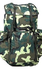 70 L mochila Acampada y Senderismo Al Aire Libre Multifuncional Verde Lienzo Other