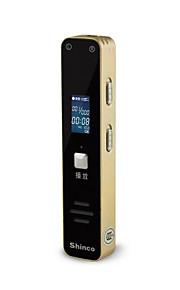 Shinco één druk op de knop voice recorder op afstand ruis ultra-miniatuur (8G)