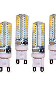 12W G9 LED à Double Broches T 104 SMD 3014 850 lm Blanc Chaud / Blanc Froid Décorative AC 100-240 V 4 pièces