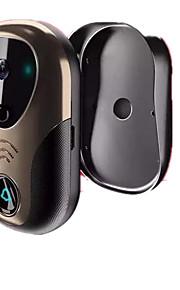 trådløs wifi mobil fjernbetjening hjemmevideo intercom dørklokken trådløs video dørklokken
