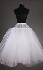 Déshabillés(Filet de tulle / Taffetas,Blanc) -Robe de soirée longue-3-102CM