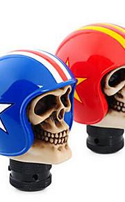 automobile gear helm hoofd schedelhoofd soldaat algemene wijziging van hoogwaardig kunststof voor individuele boxen