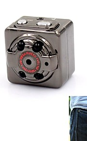 mini dv hyq8 webcam hd kamera med 4stk LED lys