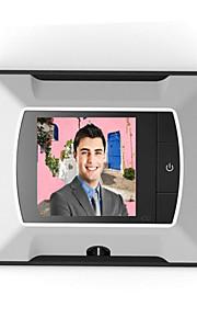 2,4 tommer elektroniske øje video dørklokke overvåge internationalt salg