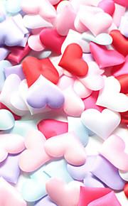 Set of 100  3.5*3.5cm Heart Shape Flower Petals Confetti for Wedding Decoration