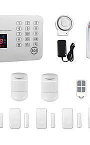 ios android app clavier tactile maison gsm sms bureau cambrioleur intrus système d'alarme sans fil / sirène stroboscopiques en plein air