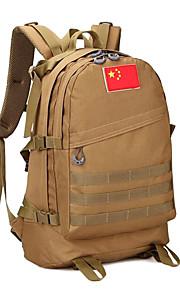 55 L mochila Acampada y Senderismo Al Aire Libre Multifuncional Marrón Lienzo Other