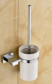 Toalettborsthållare / Krom / Väggmonterad /20*10*37 /Mässing /Modern /20 10 0.389