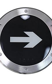 Notbeleuchtung Edelstahl Ausgang Not-U-Lampe (220 V, Durchmesser 245)