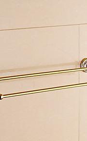 Håndklædestang / Ti-PVD / Vægmonteret /24.4*5.7*2.2 inch /Messing /Moderne /62CM 14.4CM 0.9