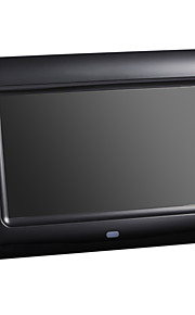 7 tommer digital billedramme 800 * 480 usb 2.0 med ur / musik&film play support 14 lande sprog