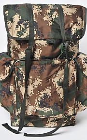 70 L mochila Acampada y Senderismo Al Aire Libre Multifuncional Camuflaje Nilón Other