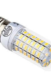 7W E14 / E26/E27 Ampoules Maïs LED T 69 SMD 5730 840 lm Blanc Chaud / Blanc Froid Décorative AC 100-240 V 1 pièce