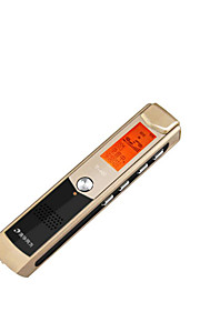 sort 8g professionelle digitale hd støjreduktion mp3 optagelse pen-tf-600