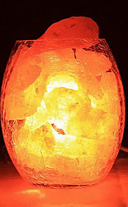 dekorative himalaya salt krystal europæiske lille lampe kreativ soveværelse varme nightlights