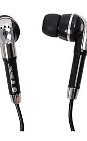 SENICC MX-110 Oordopjes (in-oor)ForMediaspeler/tablet / Mobiele telefoon / ComputerWithmet microfoon / DJ / Gaming / Ruisverminderend
