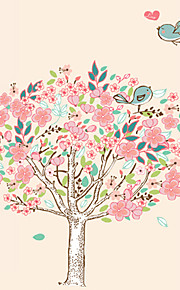 Romance Love Flower Tree With Birds Wall Stickers Fashion Removable Living Room Bedroom Wall Decals