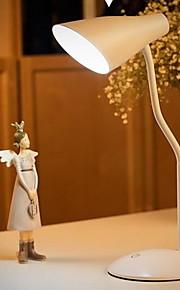 Skrivebordslamper LED / Genopladelig / Øjenbeskyttelse Moderne/samtidig Plastik