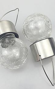 이 태양의 팩은 빛 경로 정원 램프를 걸려 스테인레스 스틸 딱딱 유리를 주도