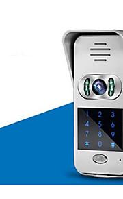 wifi, video intercom dørklokken villa ordning mobiltelefon app remote oplåsning overvågning videokamera hjem