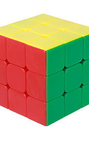 Кубики-головоломки IQ Cube Магический кубик Три уровня Скорость Гладкая Speed Cube Магический кубик головоломка Белый ABS