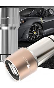 Dual USB auto-oplader, universele oplader voor elektrische voertuigen