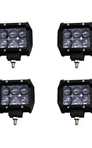 4x 30W OSRAM LED Work Light Bar Offroad 12V 24V ATV Spot Offroad for  Truck 4x4 UTV