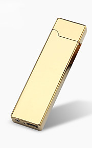 USB מצית סיגריה מיני 1pc לחייב windproof דקים וקלים