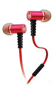Beevo EM210 Oordopjes (in-oor)ForMediaspeler/tablet / Mobiele telefoon / ComputerWithmet microfoon / DJ / Volume Controle / Gaming /