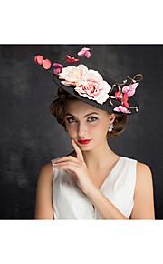 Women's Flax / Net Headpiece-Special Occasion Fascinators 1 Piece Clear Irregular 22