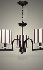 American Country Retro Nostalgia, Wrought Iron Sitting Room, Bedroom Restaurant Droplight