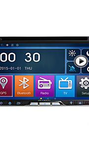 2 din 6.95''car dvd-speler met gps navi radio in het dashboard ingebouwde 3g / wifi bt swc usb / sd