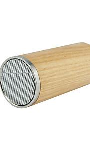 Log Bluetooth Car Speaker, Wooden Portable Wireless Small Audio
