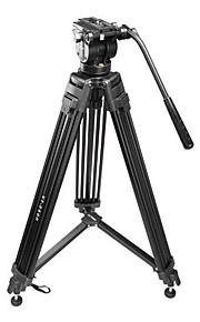 vt-2500 professionel fotografering kamera stativ kamera stativ hydraulisk dæmpning hoved kulør