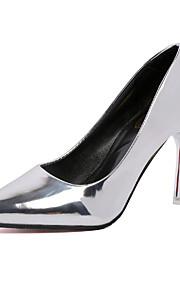 Homme-Mariage / Bureau & Travail / Décontracté-Argent / Or-Talon Aiguille-Talons / Bout Pointu-Chaussures à Talons-Similicuir