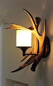 harpiks væglampe midtergangen lyser kreativ balkon seng til en lang gevirer enkelt hoved lampe