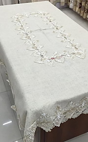Mélange Lin/Coton Neliö Table Cloths