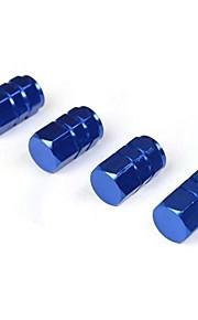aleación de aluminio tapa del tubo de vapor para el casquillo de válvula del neumático